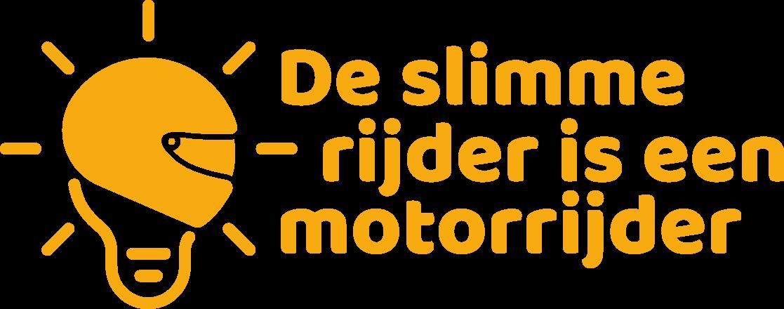 De slimme rijder is een motorrijder