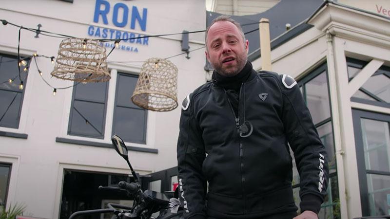 MMM met de motorrijdende topchef - Op bezoek bij Ron Gastrobar - Maart Motor Maand